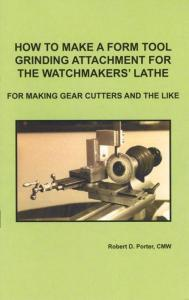 Watch Repair Form Tool Grinding Attachment for Lathe