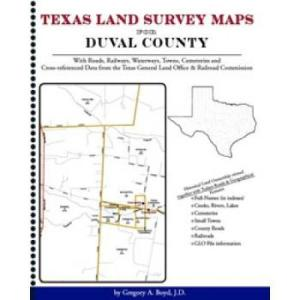 Texas Land Survey Maps For Duval County By Gregory Boyd