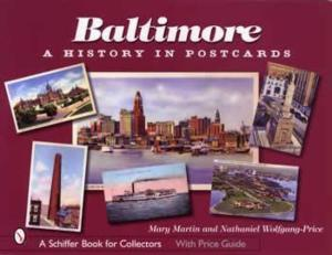Baltimore A History In Postcards Book Maryland Vintage